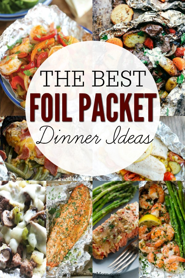 Foil Packet Meals Recipes