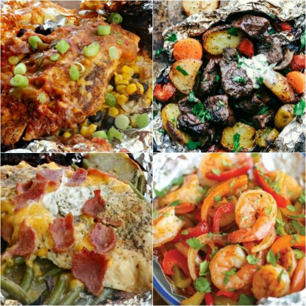 The Best Tin Foil Dinners to try on the Grill