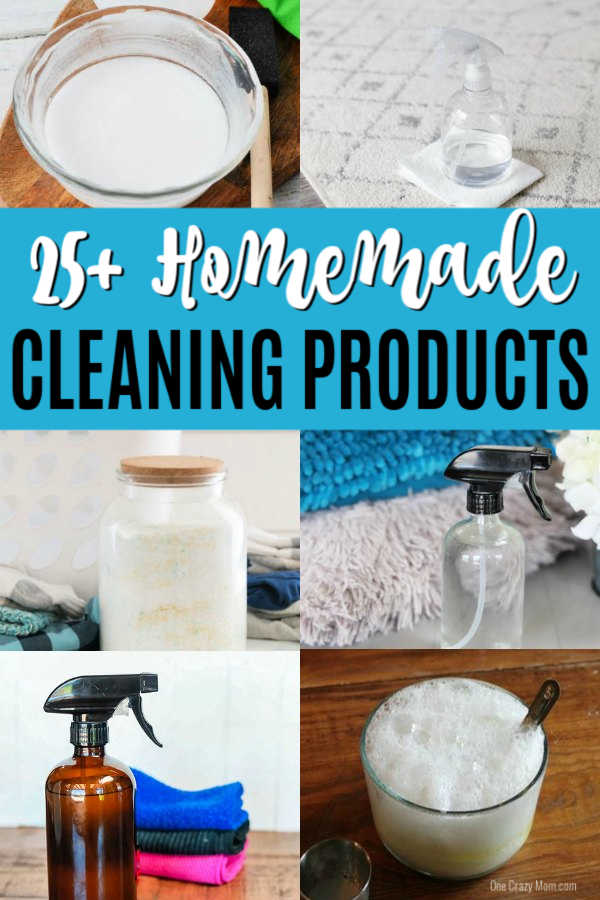 Try these diy home cleaning products that will leave your house sparkling! 20 homemade cleaners that are easy to make.These homemade cleaning products will not break the bank and you will love them! So simple to make!
