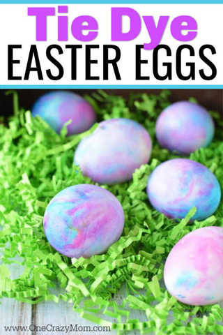 Learn how to make shaving cream Easter eggs. Dying Easter eggs with shaving cream is fun and frugal. Kids will love making tie dye Easter eggs.