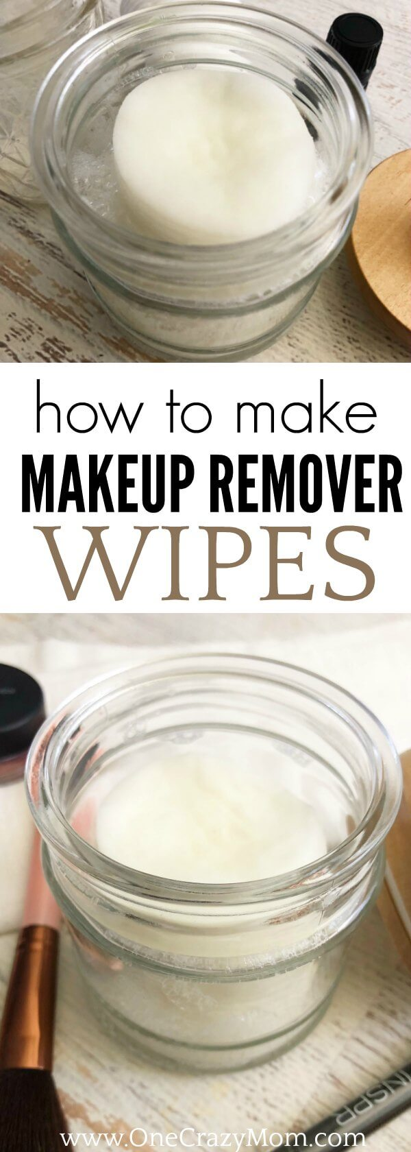 Learn how to make makeup remover wipes in just a few easy steps! Removing makeup will be a breeze once you learn how to make make up remover wipes.