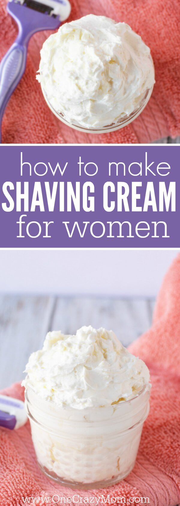 Try this diy shaving cream for Women for a closer shave.You will love how luxurious this natural shaving cream is. This easy homemade shaving cream leaves your skin silky smooth! Plus, its very simple and quick to make.