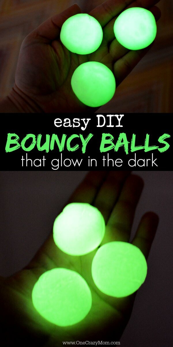 Kids are going to love these fun DIY Bouncy Balls. Learn how to make a bouncy ball! Glow in the dark bouncy balls are so cool! Once you know how to make bouncy balls, it's so simple and fun to do!