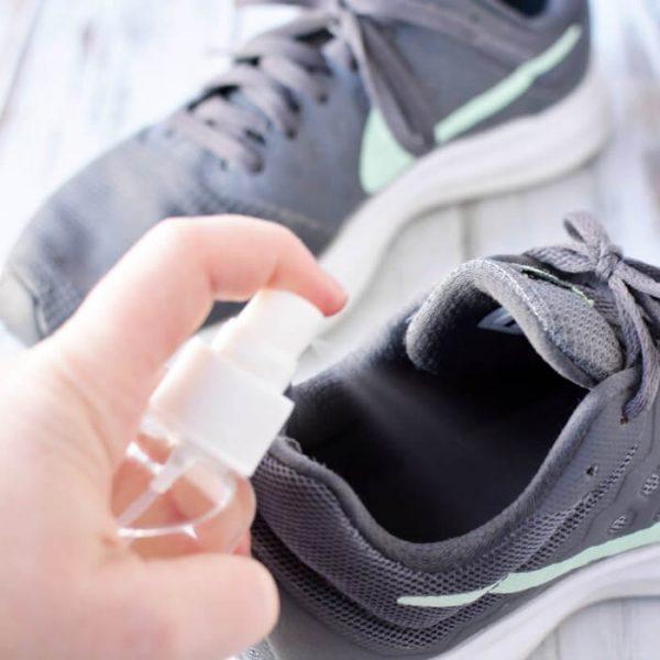 DIY Shoe Deodorizer Spray – Stinky Shoe Spray!