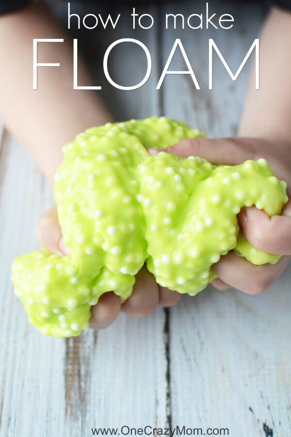 Learn how to make floam. This floam slime recipe is very easy to make and does not require a ton of ingredients. Once you know how to make floam slime, it's very simple. The kids will have a blast making this floam! No need for kits when you have this simple recipe.