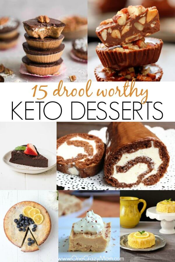Easy Keto Desserts - 15 quick and easy keto desserts