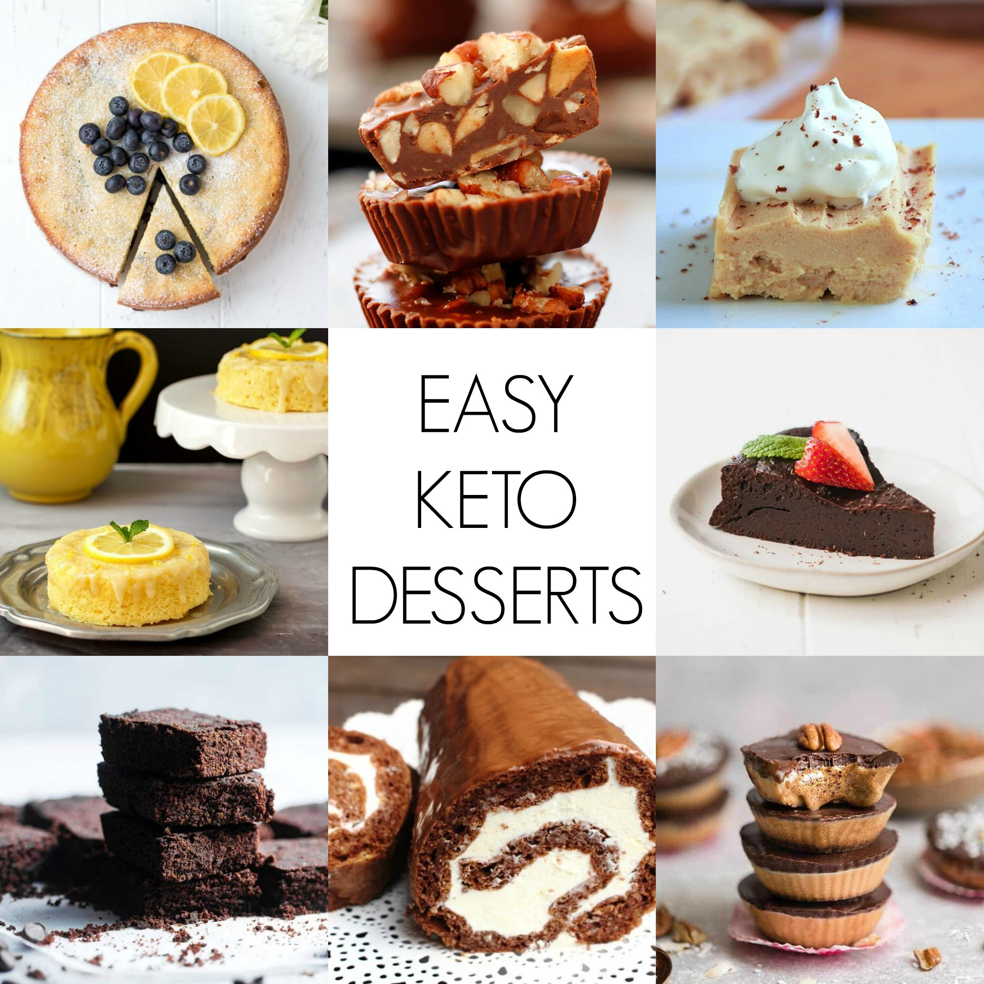 Keto Desserts Quick And Easy Keto Dessert Recipes