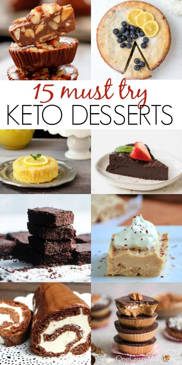 Try these easy Keto desserts to satisfy your sweet tooth. Quick easy keto dessert recipes include ice cream, brownies, cheesecake, fat bombs and more!