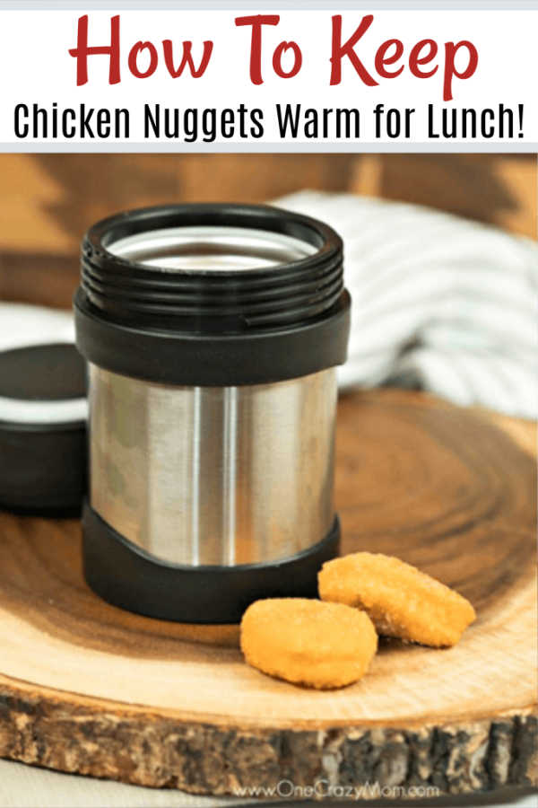 Learn how to pack frozen chicken nuggets for lunch! Once you know how to keep chicken nuggets warm in school lunchbox, kids will enjoy their lunch. Learn how to keep nuggets from getting soggy. This is simple, easy and budget friendly!