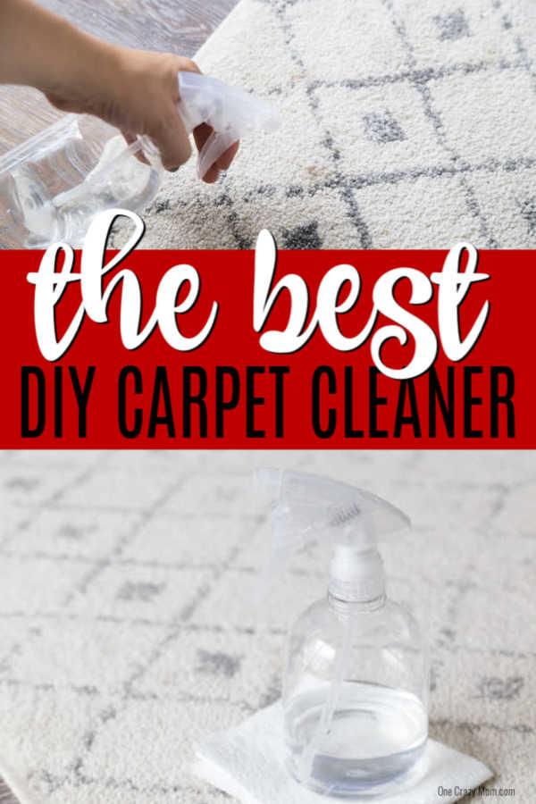 Homemade Carpet Cleaner Best Homemade Carpet Cleaner