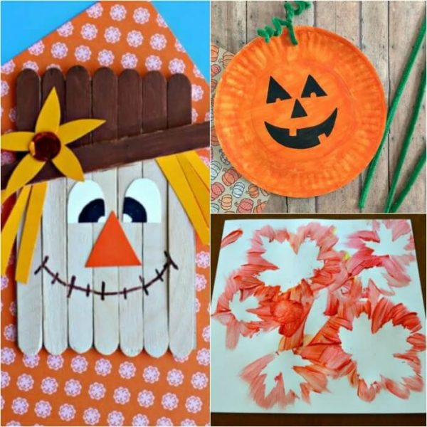 Over 15 Quick and Easy Fall Crafts for Kids