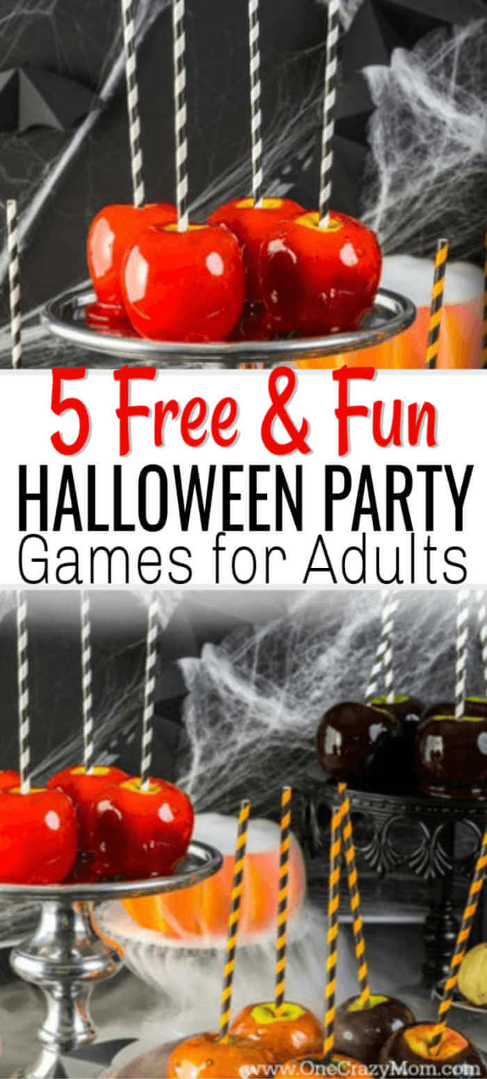 adult halloween party game