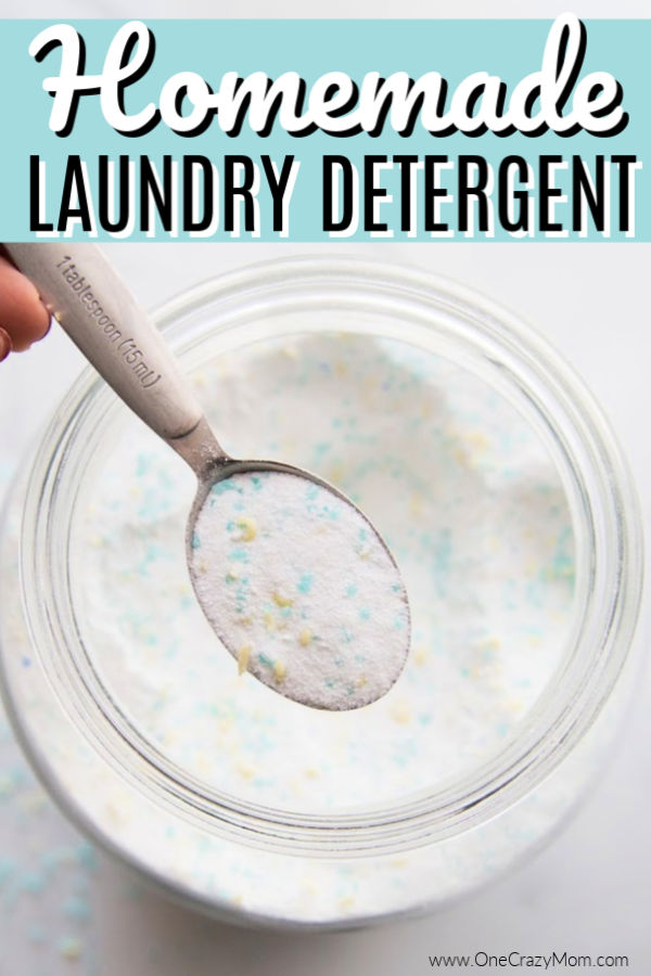Learn how to make the best Homemade Laundry Detergent. This easy to make homemade laundry detergent is very frugal. Homemade laundry detergent recipe is for HE washers too!
