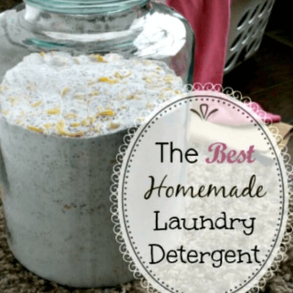 How to Make Homemade Laundry Detergent for HE Washers