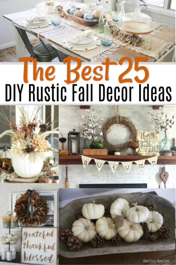 Diy Fall Decorating Ideas 25 Diy Fall Decor Ideas You Will
