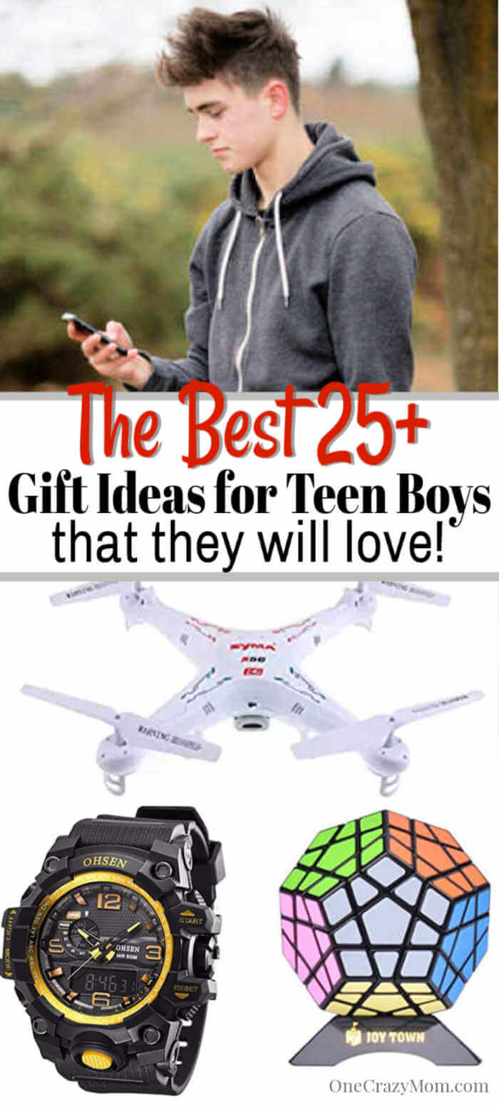 Here are the best Christmas gifts for teen boy that are budget friendly. 25 Christmas ideas for teen boys they will love and actually use.