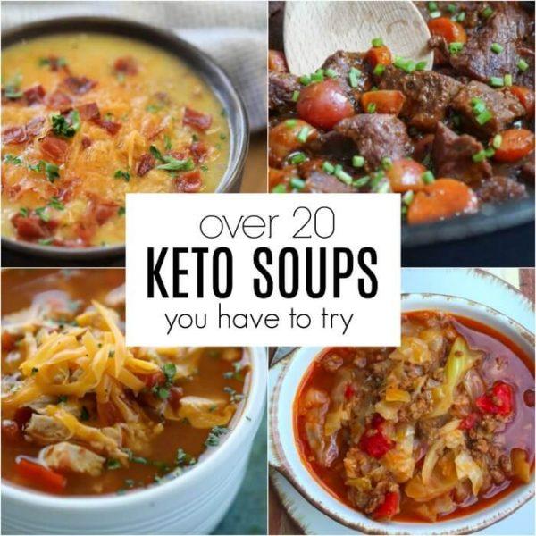 Easy Keto Soup Recipes