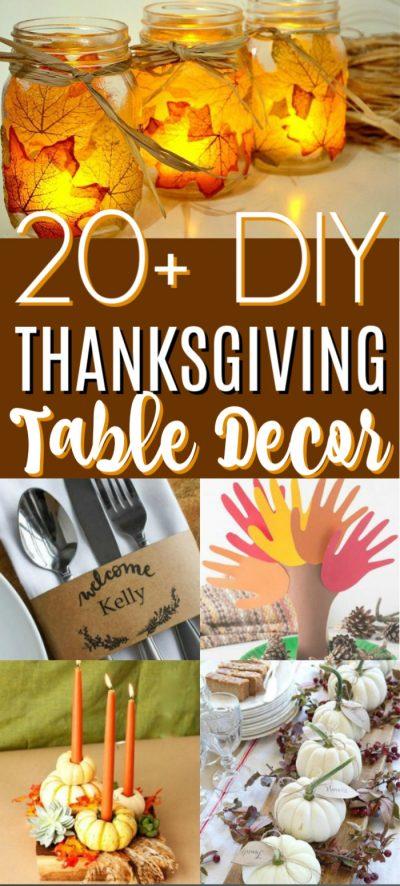 Thanksgiving Table Decor Ideas , 20 Thanksgiving Table