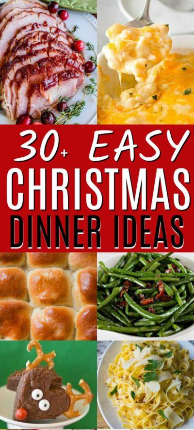 Christmas Dinner Ideas - 30 Christmas
