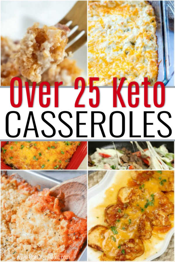 We have over 25 tasty Keto Casseroles that are delicious and easy to make. Try these Low Carb Casseroles that everyone will love and can prepare quickly.