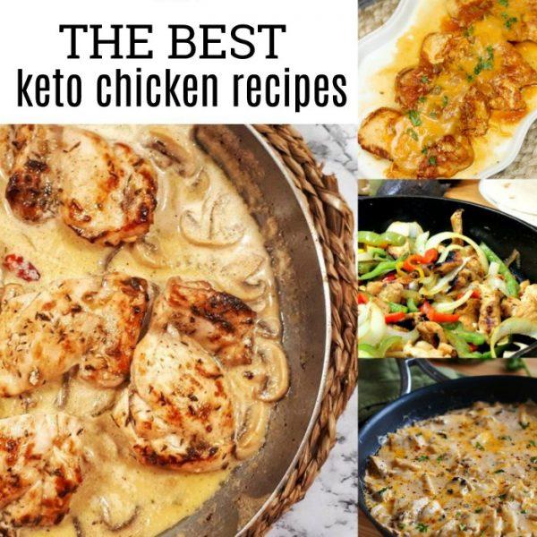 The Best Keto Chicken Recipes