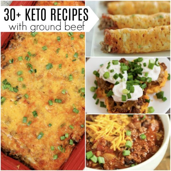 30+ easy keto ground beef recipes