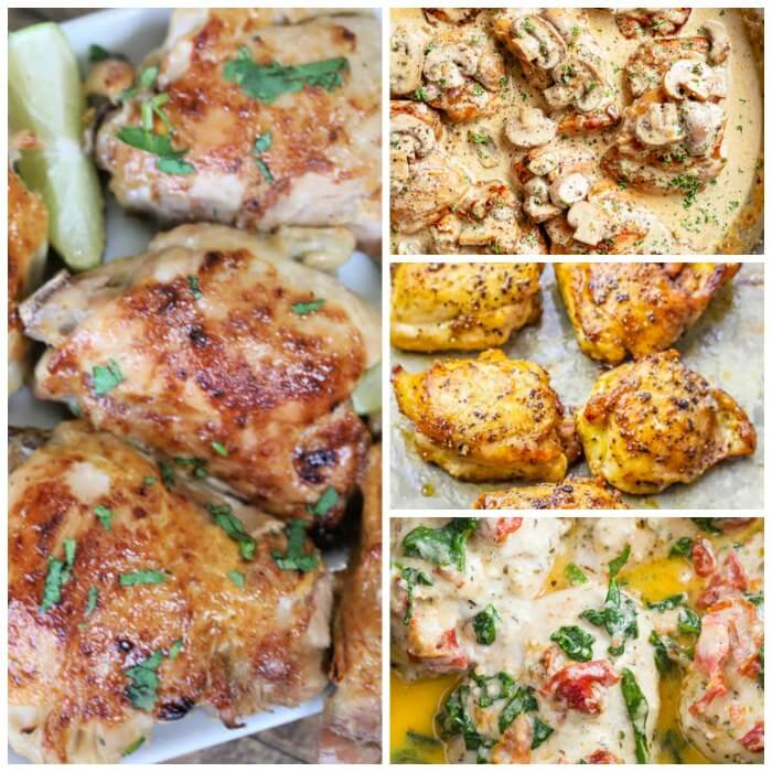 You will love these Keto Chicken Thigh Recipes if you are eating ketogenic. They are simple and delicious. The entire family will love keto chicken thighs.