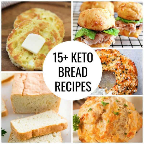THE BEST KETO BREAD RECIPES