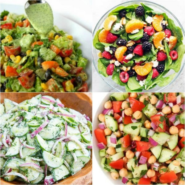 15 Quick and Easy Summer Salads You Will Love!