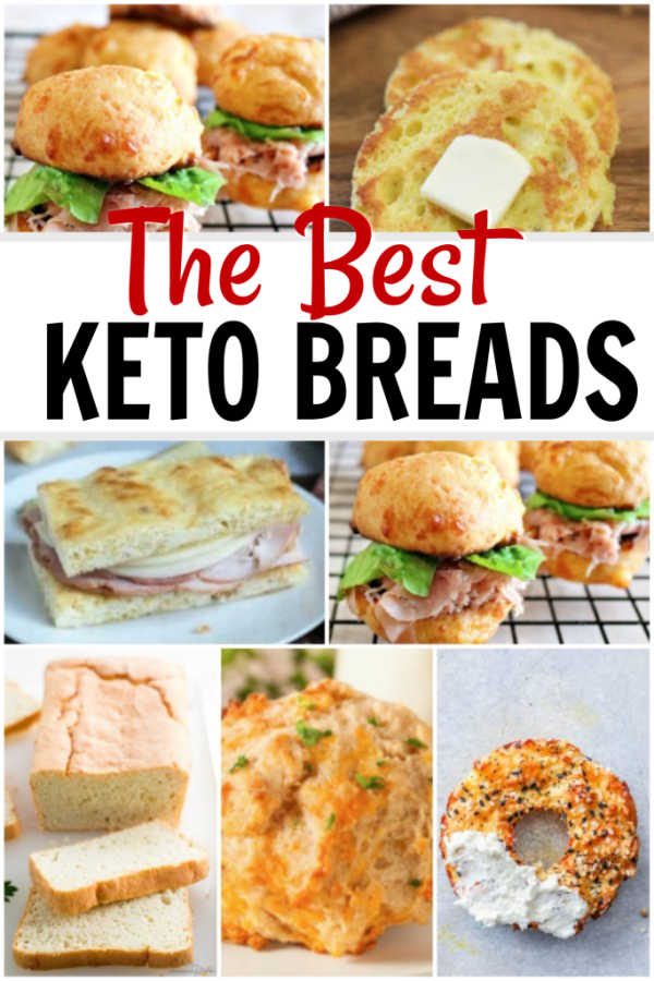 Are you doing Keto but miss bread? We have the best Keto Bread Recipes. From rolls and bagels to biscuits and more, we have the most delicious keto recipes.