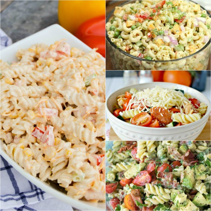 We have 25 Easy Pasta Salad Recipes that are frugal, simple and so tasty. These summer pasta salad recipes are perfect for potlucks, barbecues and more.