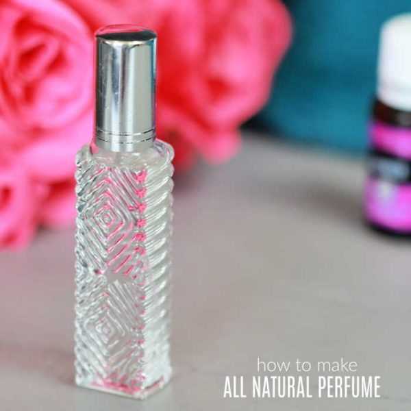 DIY Essential Oils Perfume Recipe
