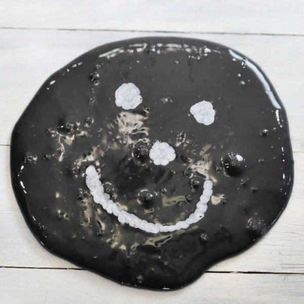 DIY Chalkboard Slime