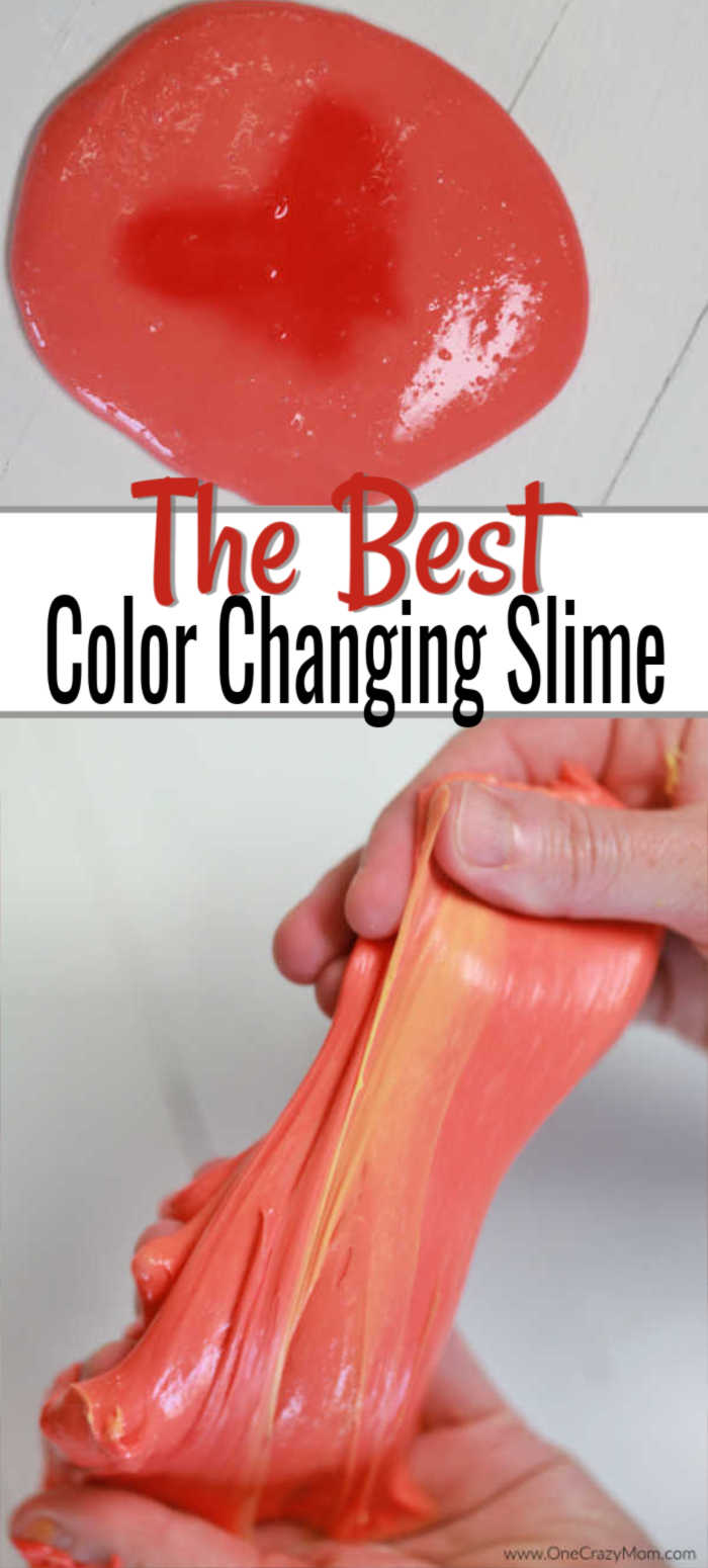 Learn how to make color changing slime and impress your kids. If they are crazy over slime, they are going to love making this color changing slime recipe.