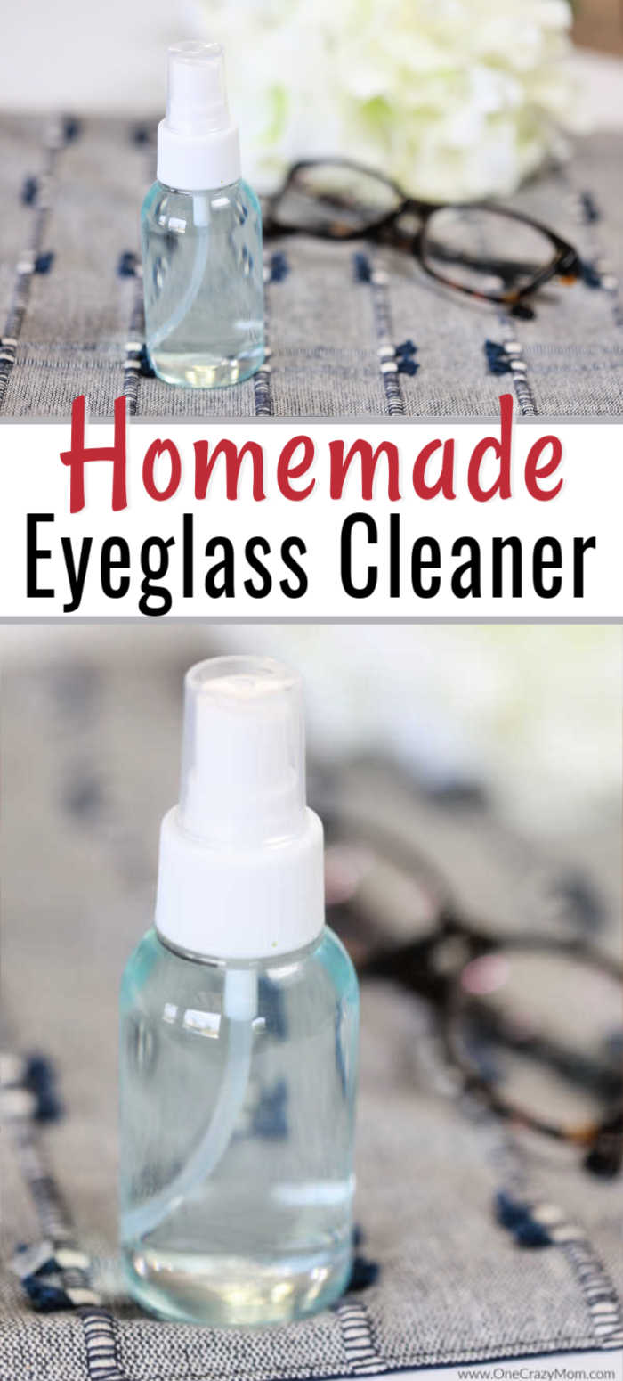 Homemade Eyeglass Cleaner is so simple to make and very budget friendly. Make this easy diy eyeglass cleaner today and see how great it works!
