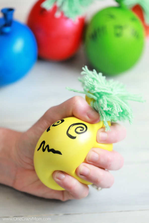 You will love how easy it is to make this DIY Stress Ball. Learn how to make a stress ball that helps to reduce stress and is fun to make. They are so cute!