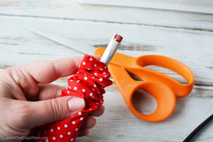 Learn how to make a scrunchie with just a few supplies. It is so easy to make a DIY Scrunchie that you can make them in just minutes and save money too.