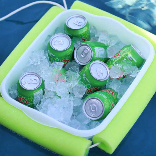 DIY Floating Pool Cooler