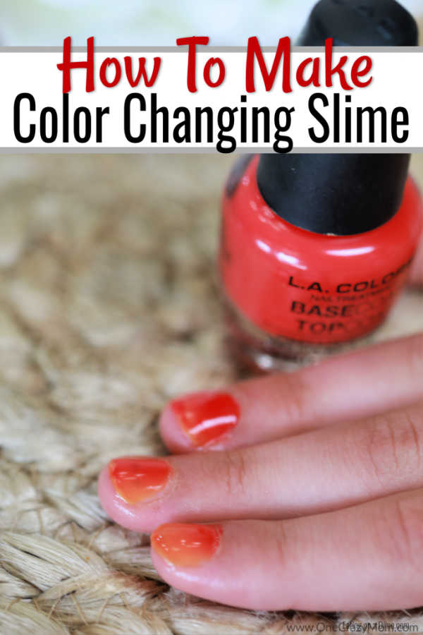 DIY Color Changing Nail Polish is so simple to make and a blast to use. Learnhow to make color changing nail polish that is so cool!