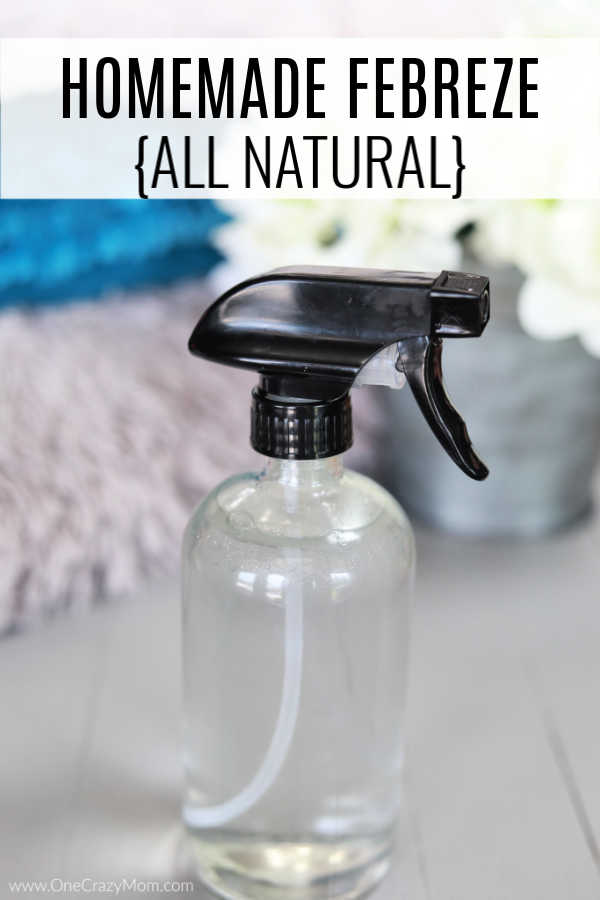 DIY Febreeze - All Natural and Easy to