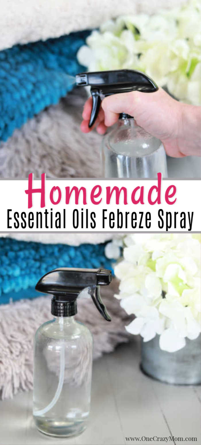 Keep your house smelling fresh with DIY Febreeze you can make at home. No need to spend tons of money at the store when you can make it at home.