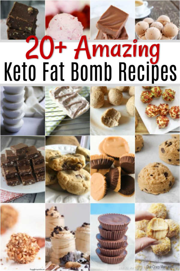 We have over 20 Keto Fat Bomb Recipes that are easy to prepare and so delicious. These recipes are so decadent and make eating Keto a breeze.