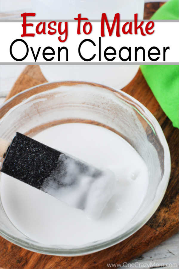 Homemade Oven Cleaner is easy to make and all natural. Learn to clean your oven without all the heavy fumes and make this all natural oven cleaner recipe.