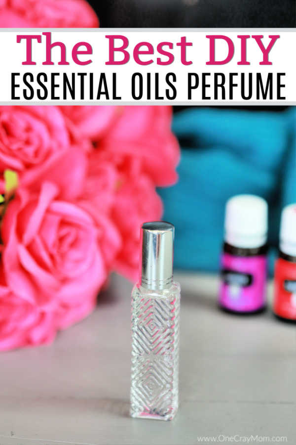 Learn how to make DIY Perfume that is all natural and smells great. It is so simple to make diy essential oil perfume and you can easily customize it.