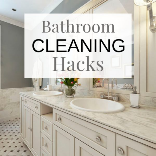 Bathroom cleaning hacks that will change your life!