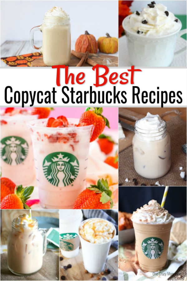 You can enjoy Starbucks recipes at home thanks to these easycopycat Starbucks recipes. Save time and money while still enjoying your favorite beverages.