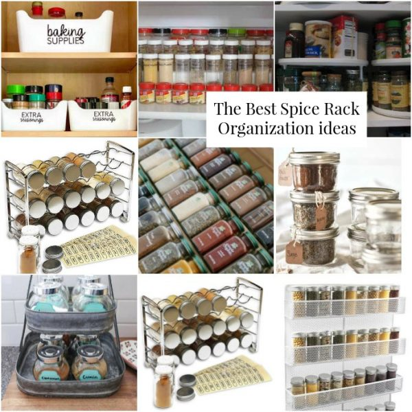 Easy Ways to Organize Spices