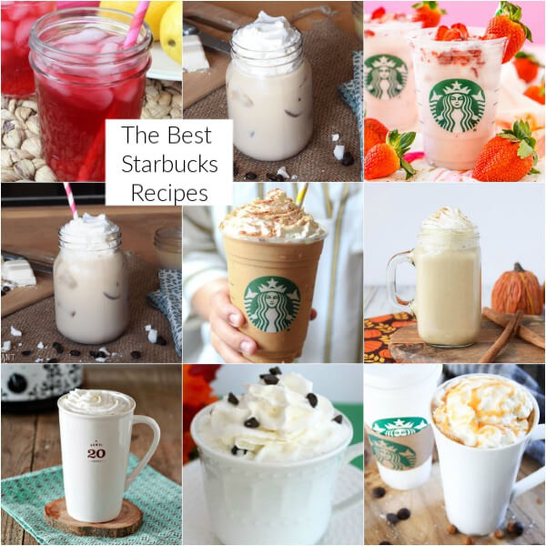 Easy Starbucks recipes to make at home!