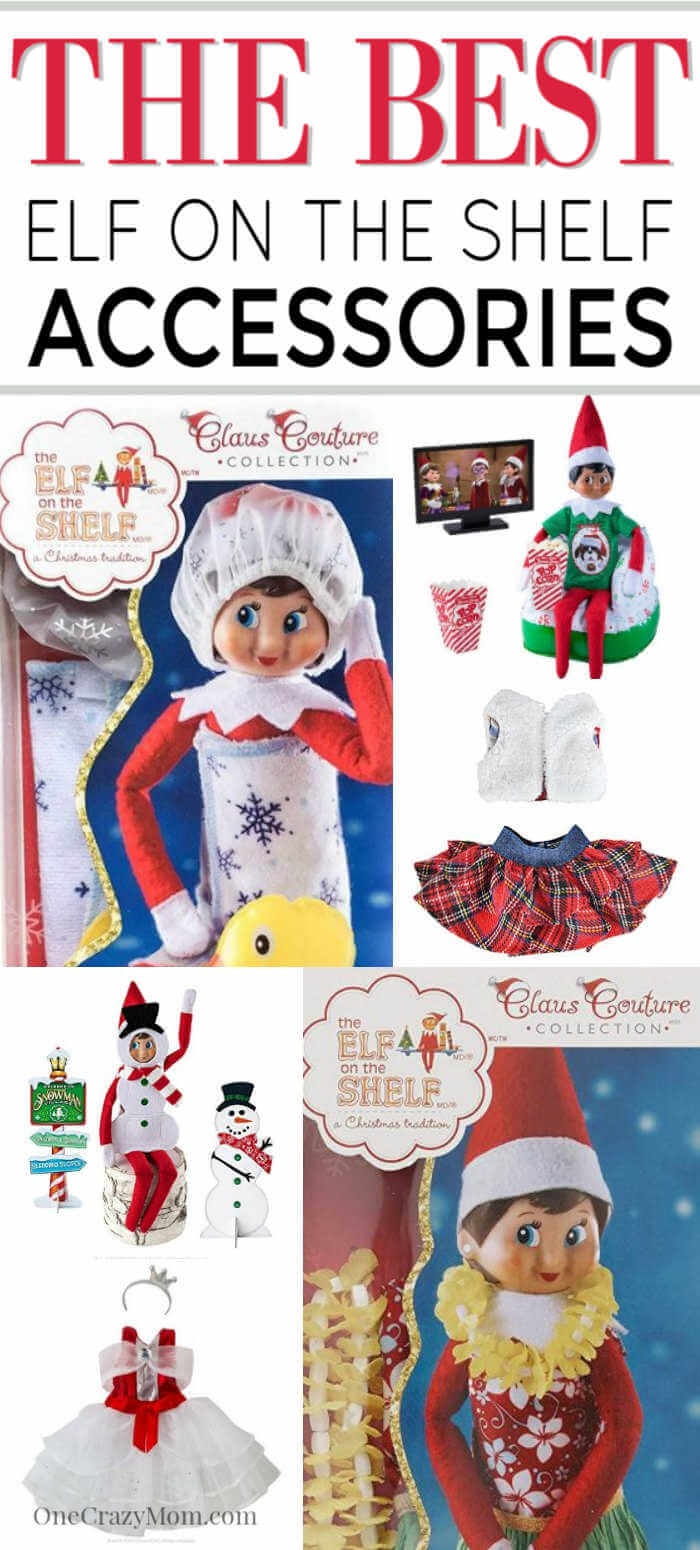 The kids love when Elf on the Shelf makes it's official appearance. Everyone knows you must have Elf on the shelf accessories and we have the ones you need!