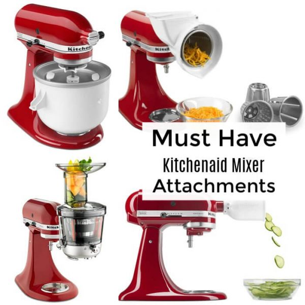 Must have kitchenaid mixer attachments